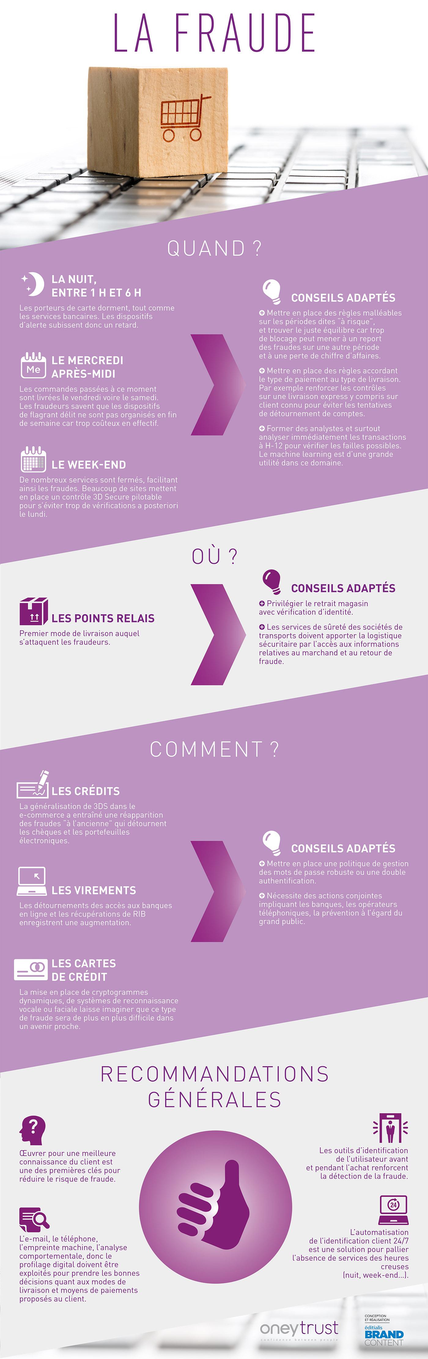 Infographie : panorama de la fraude